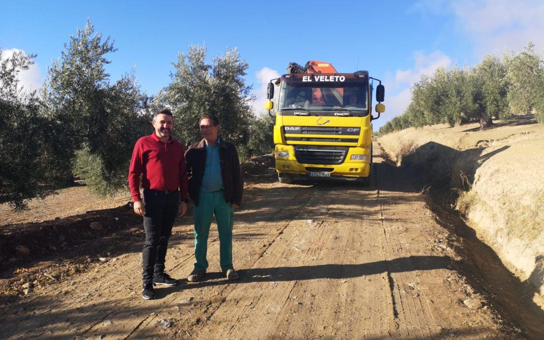 Comienza la actuación del Ayuntamiento para arreglar los caminos reales