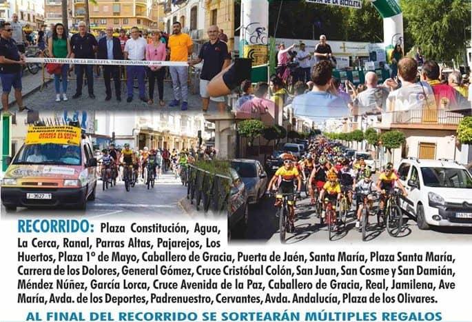 Este sábado, Torredonjimeno celebra el Día de la Bicicleta