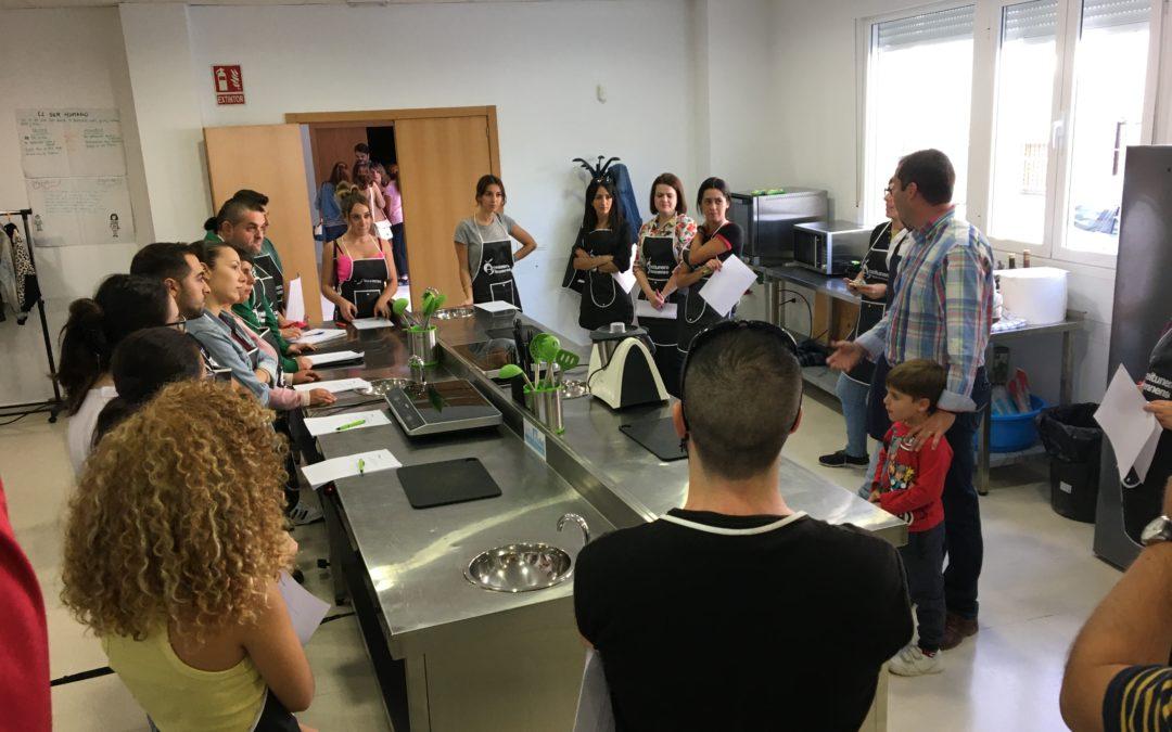 Los alumnos del curso de cocina aprender a hacer tres platos con bacalao