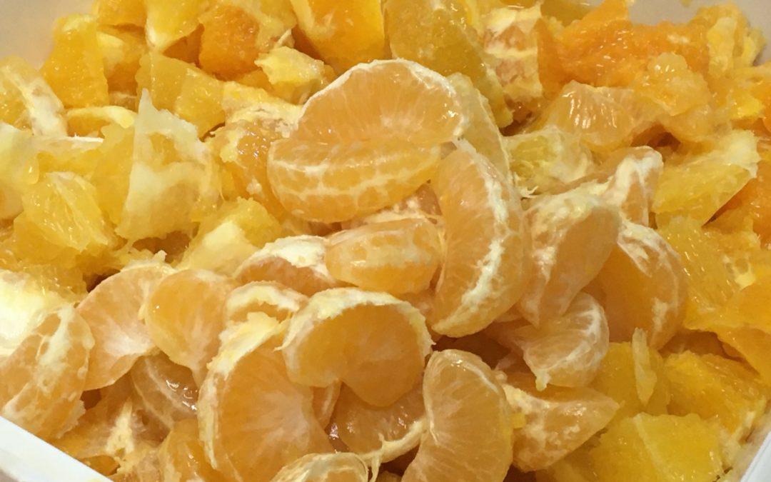 Manzanas, plátanos y uvas para celebrar el Día Mundial de la Alimentación