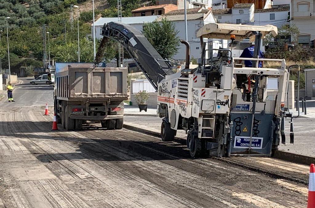 El viernes estará cortada al tráfico la Avenida Virgen del Rocío