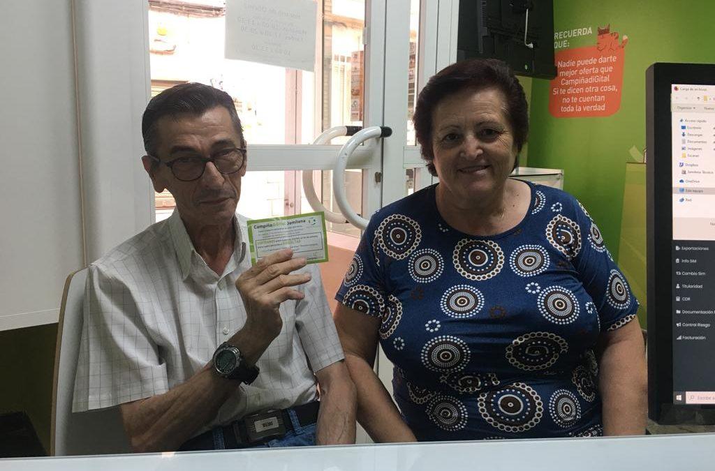 Antonio Cejas gana un viaje a Gibraltar gracias al sorteo de Campiña Digital