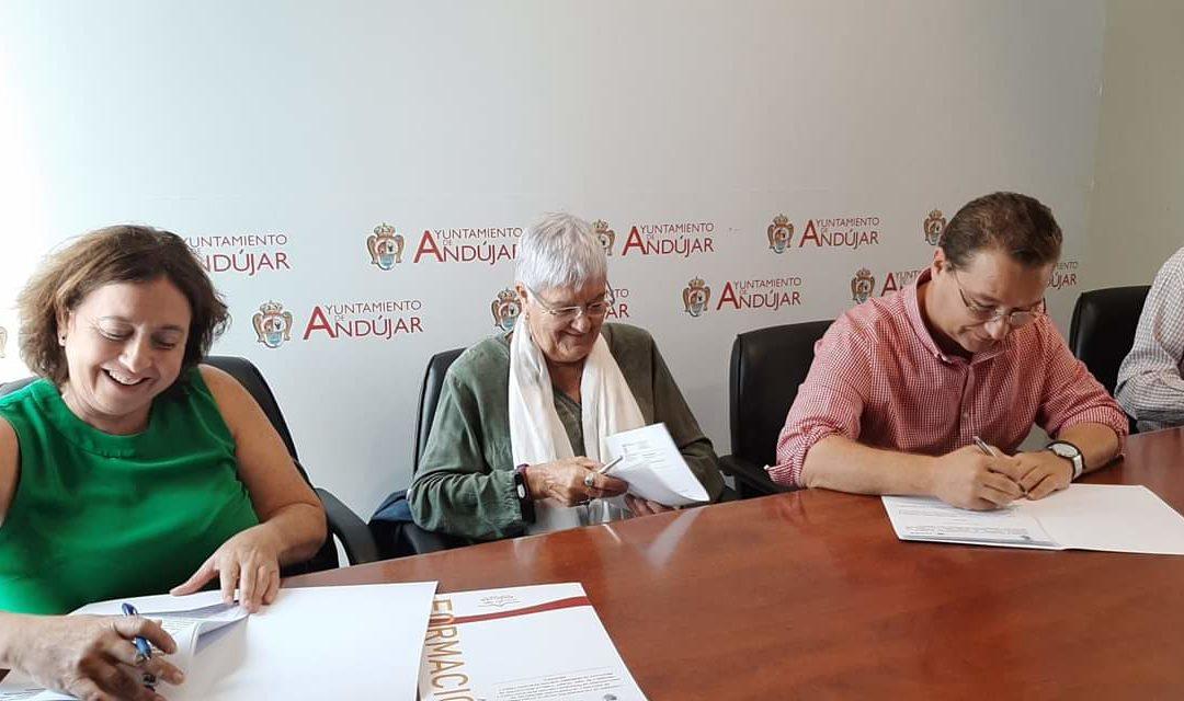 Convenio de colaboración para que usuarios de Fejidif y Apromsi realicen prácticas en departamentos municipales