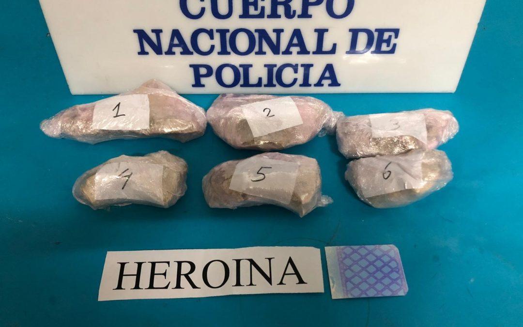 Tres detenidos en Linares en una de «las mayores aprehensiones» de droga de la provincia en años