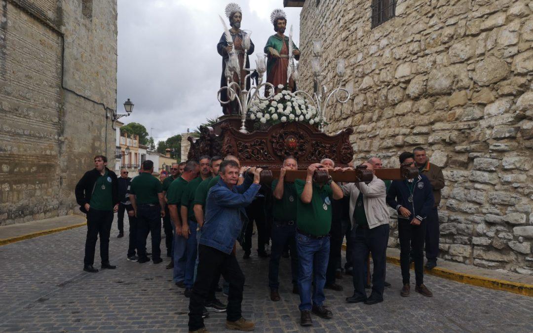 San Cosme y San Damián vuelven a su ermita