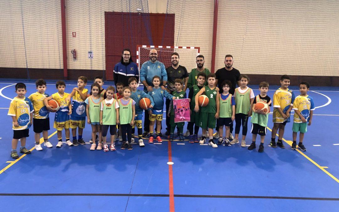 El CB Toxiria participa en la primera concentración Babybasket