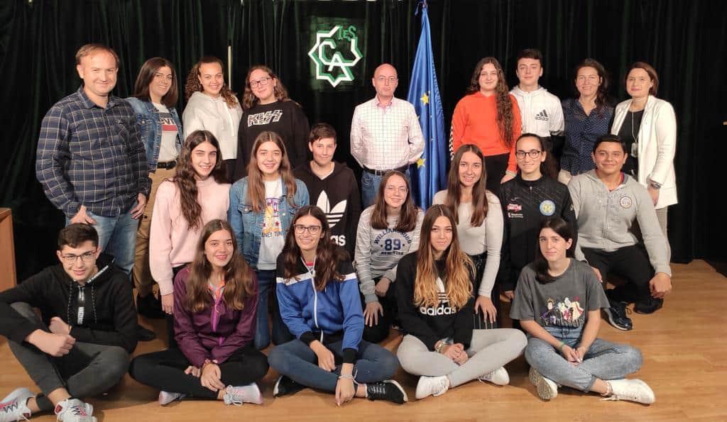 """El IES Ciudad de Arjona es nombrado """"Escuela embajadora del Parlamento Europeo"""""""
