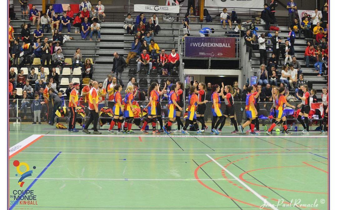 La Selección Española de Kinball, semifinalista del Mundial