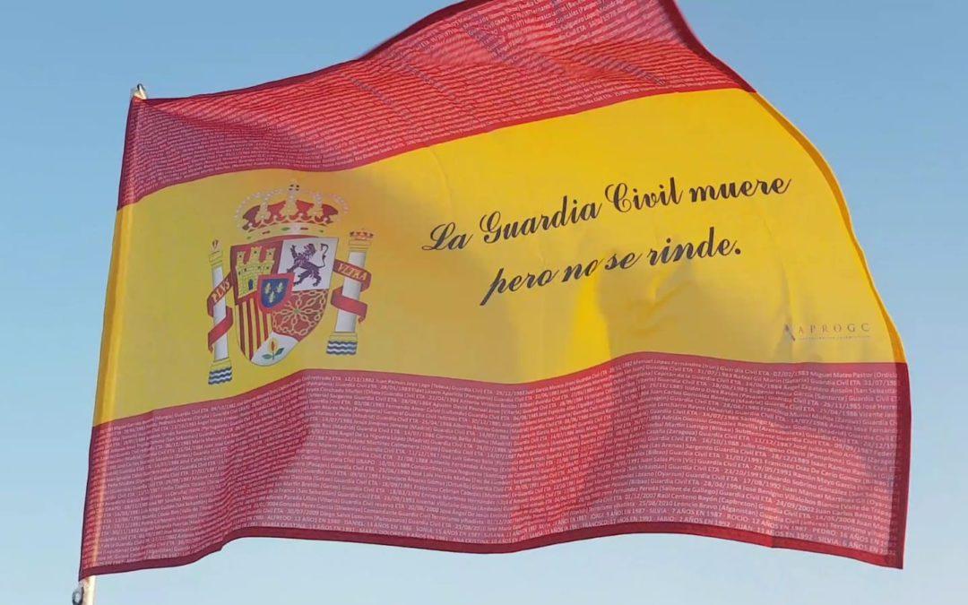 La Asociación Pro Guardia Civil ofrecerá «La bandera de los héroes» a la Morenita