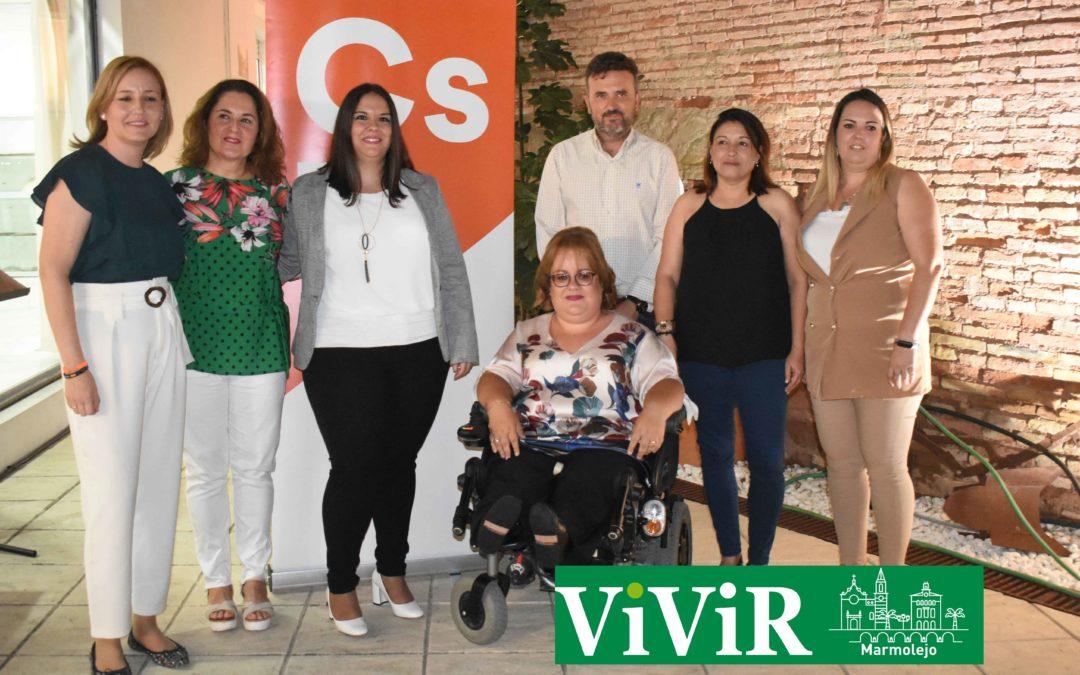Ciudadanos Marmolejo renueva su junta directiva, ahora formada solo por mujeres