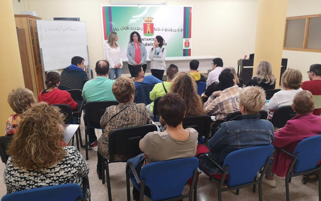 Reunión de inicio de curso del Programa Municipal de Inclusión Social para personas con diversidad funcional