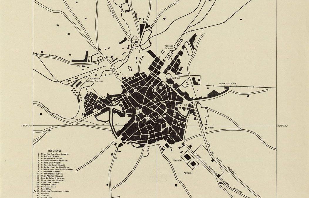 El mapa de los aliados para invadir Linares si Franco se unía a Hitler