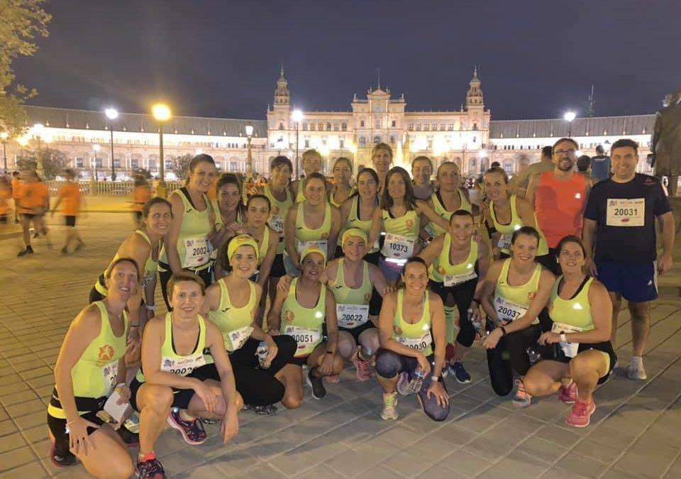 «Las coletas» presente en la Nocturna del Guadalquivir