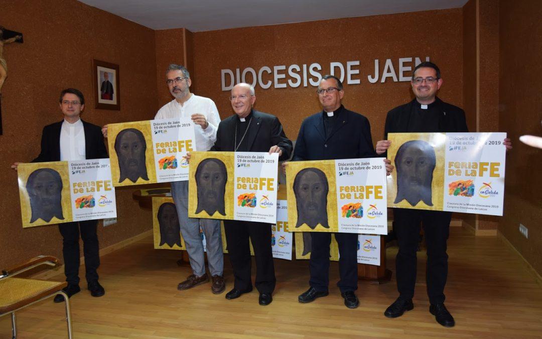 'Venid y veréis', el Obispo de Jaén invita a conocer la Iglesia de Jaén en la Feria de la Fe