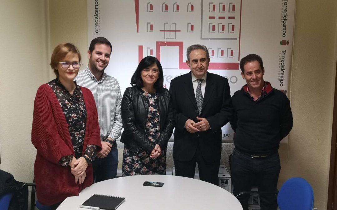 Cruz Roja presenta en Torredelcampo las líneas de trabajo en materia de empleo