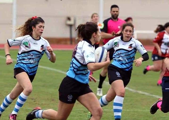 Las 'leonas' del rugby femenino andaluz se citan en Linares