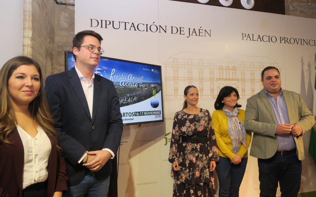 La VI Fiesta del Primer Aceite de Jaén incluirá más de medio centenar de actividades