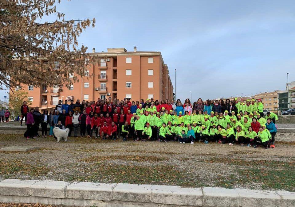 La I marcha interclubes 'Correr sin miedo' cuenta con más de 150 participantes