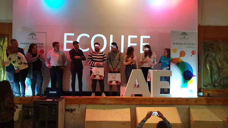 """Un alumno de SAFA Andújar gana el I Hackathon Emprende Jaén con el proyecto """"Ecolife"""""""