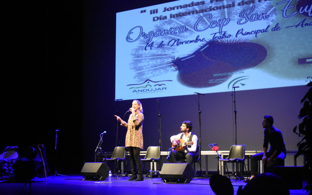 Más de 1000 escolares iliturgitanos participan en las III Jornadas Flamencas Escolares organizadas por el CEIP San Eufrasio