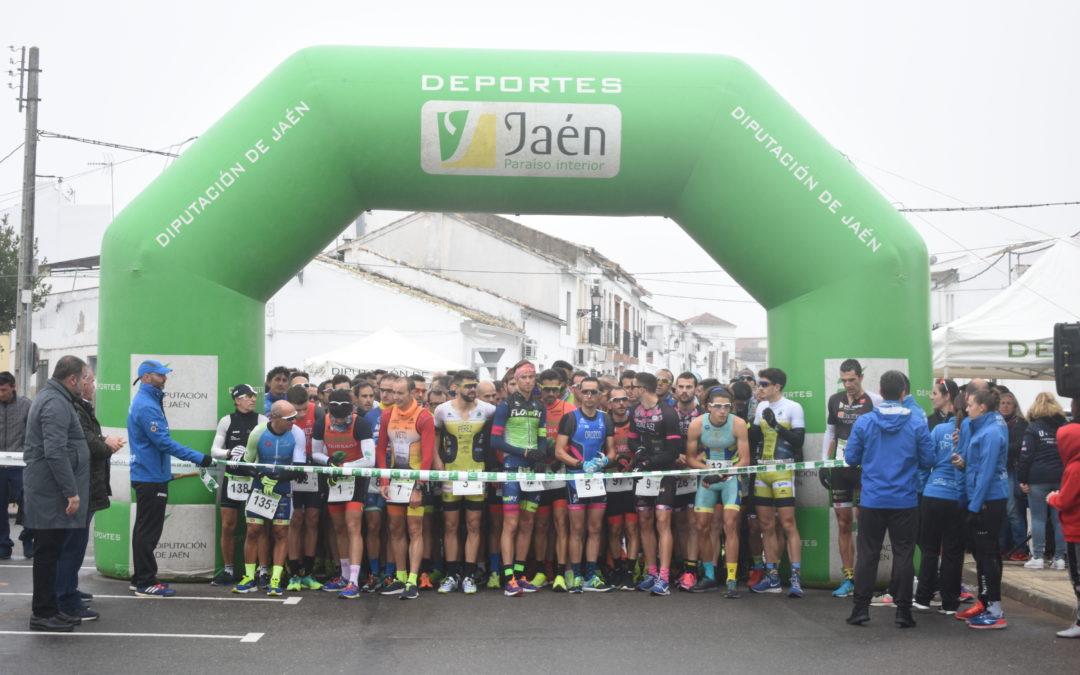 José Manuel Orozco y Rocío Espada, vencedores del XII Duatlón-cros Balneario de Marmolejo