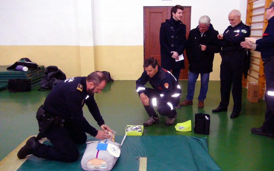 Equipamiento para salvar vidas