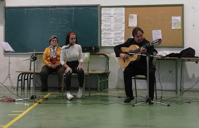 Jornada flamenca en el IES Gamonares