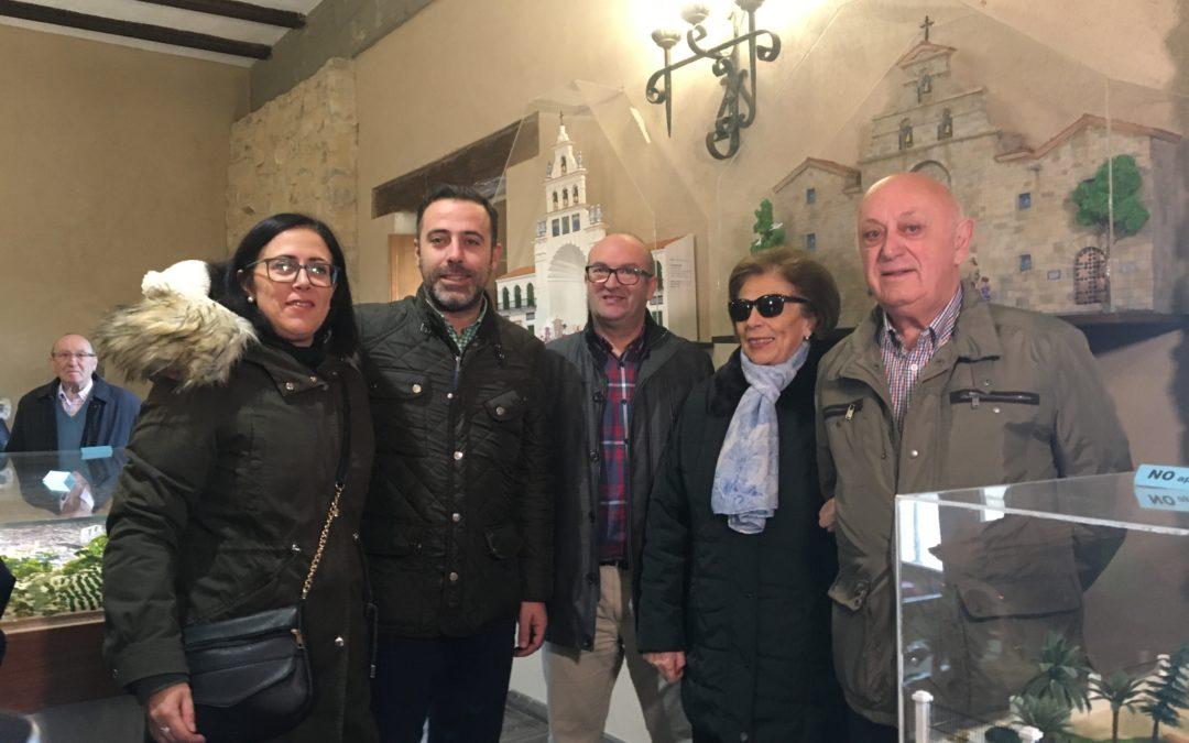 El Castillo de Torredonjimeno acoge una exposición de maquetas