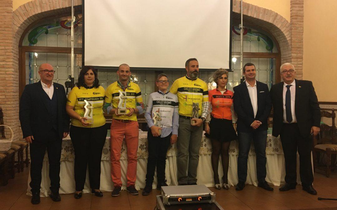El Club Ciclista Tosiria celebra su almuerzo fin de temporada