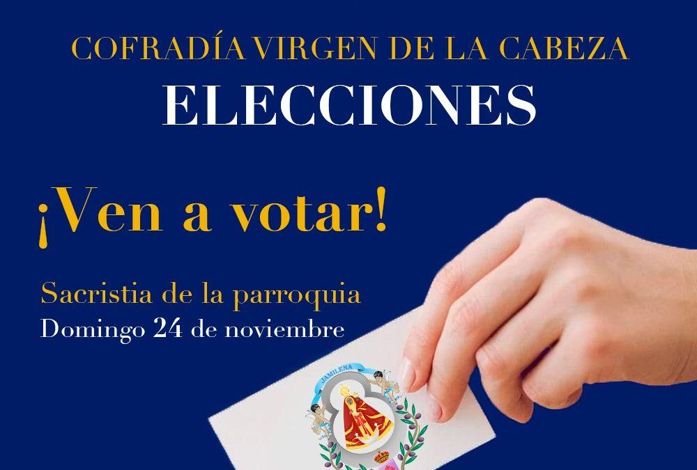Elecciones a la Cofradía de la Virgen de la Cabeza de Jamilena