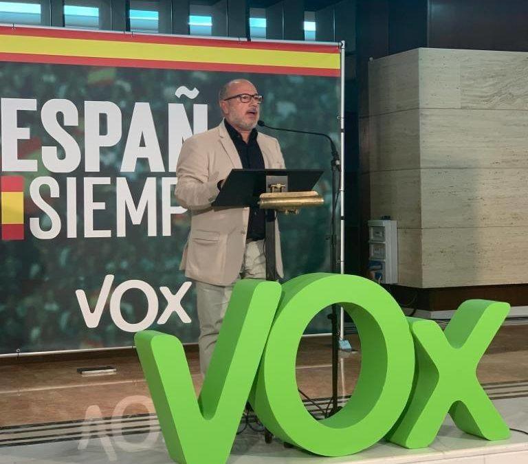 El primer diputado de VOX es de Torredonjimeno