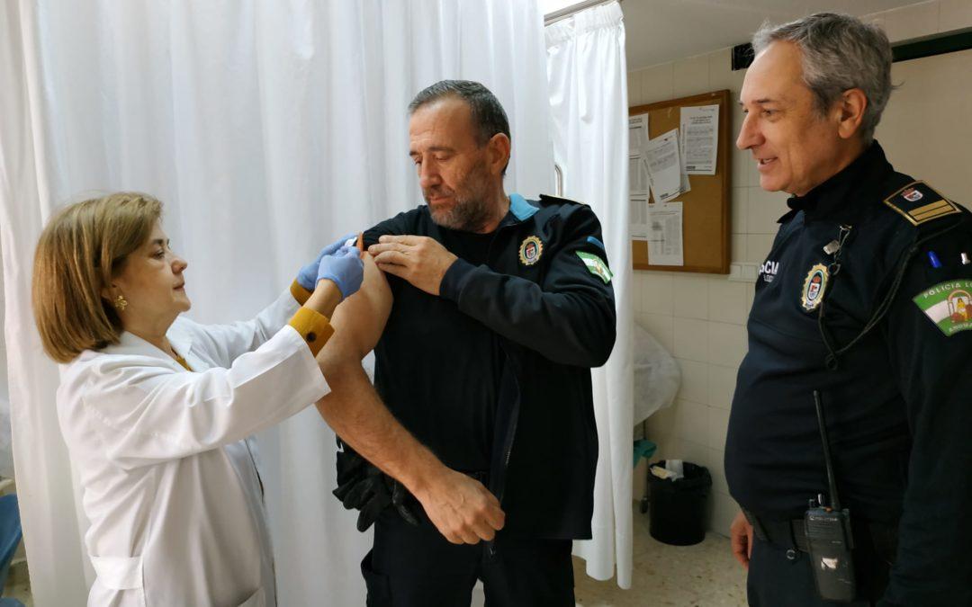 La Unidad 'Andújar A' administra 1200 vacunas de la gripe en tres semanas