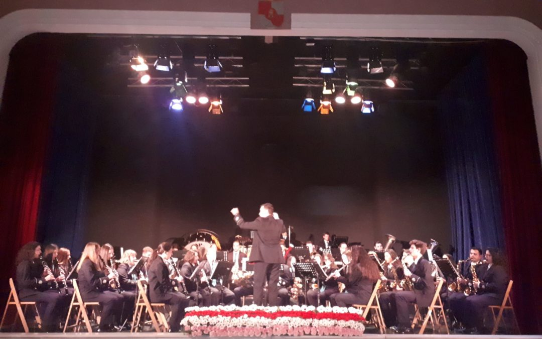 La Banda de Música de Villanueva de la Reina celebra Santa Cecilia