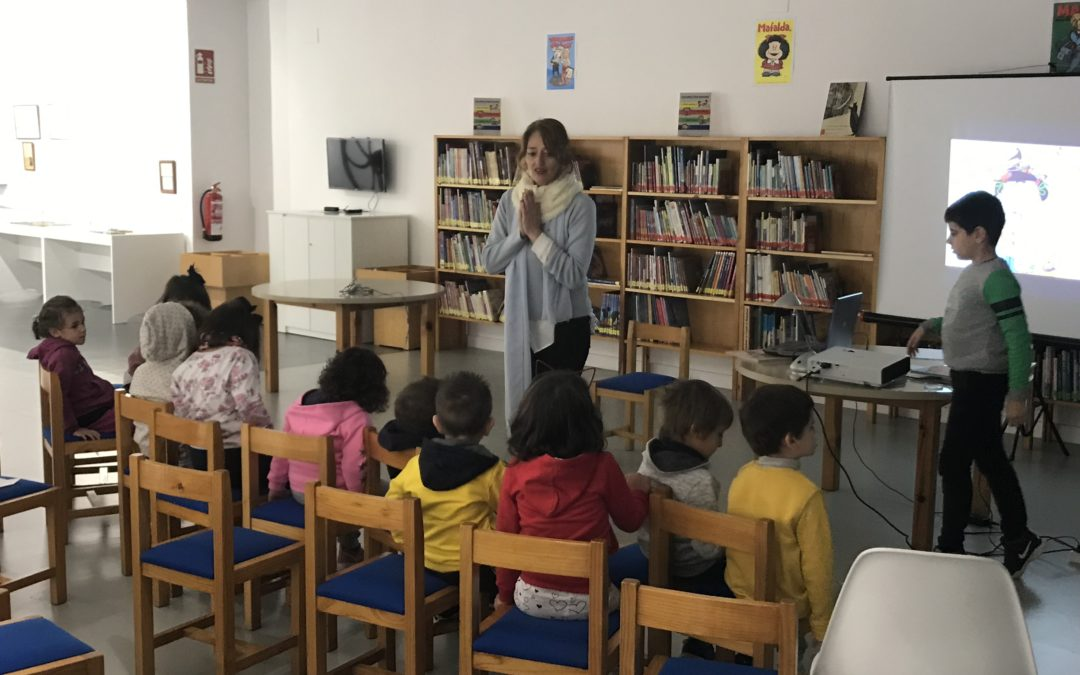 Cuentacuentos por la igualdad en la Biblioteca Infantil