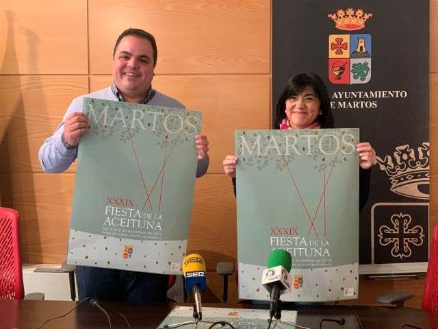 Paqui Medina pregonará la XXXIX Fiesta de la Aceituna de Martos