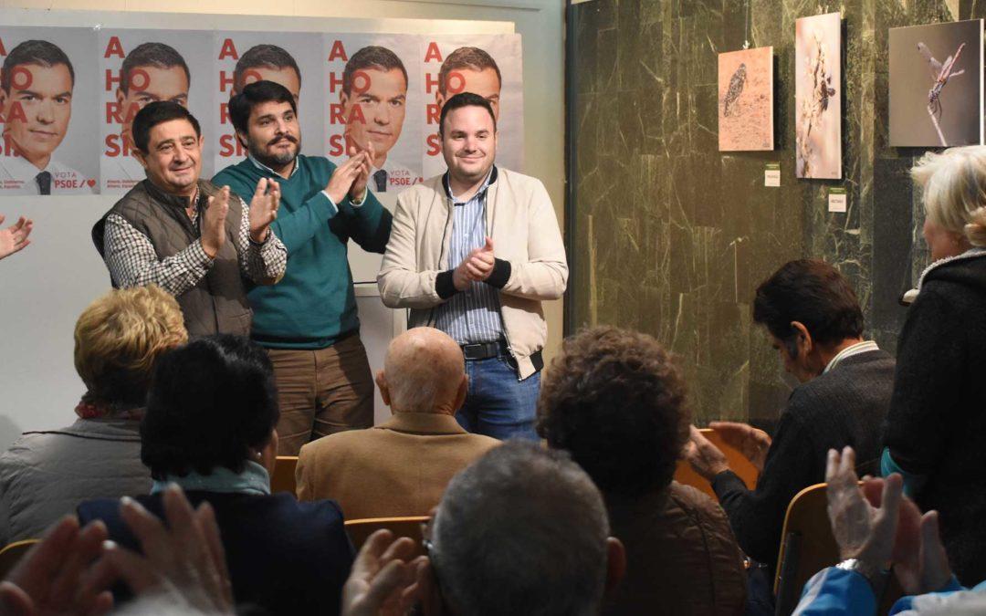 """El PSOE cierra la campaña en Marmolejo """"conscientes de lo mucho que nos jugamos"""""""