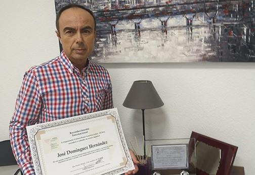 Brasil reconoce el trabajo del artista José Domínguez