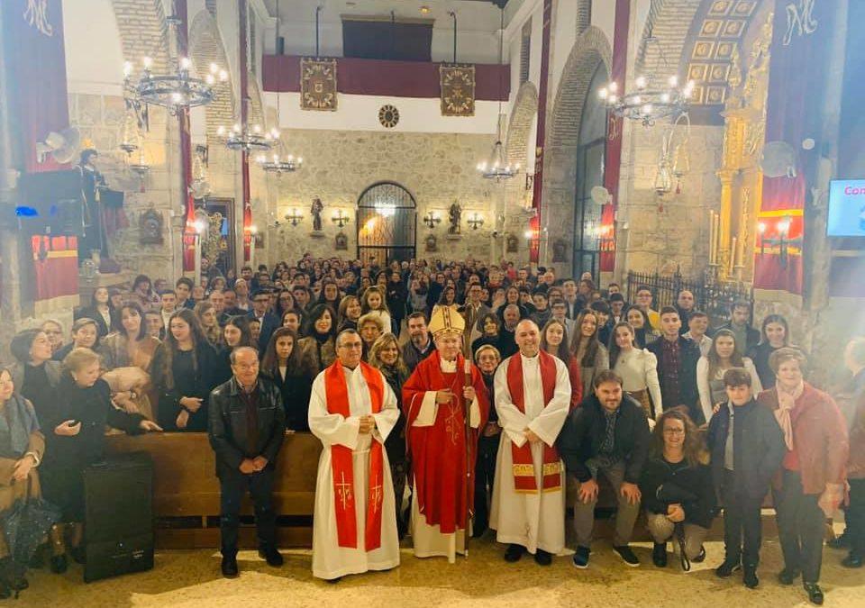 32 fieles reciben el Sacramento de la Confirmación en Jamilena