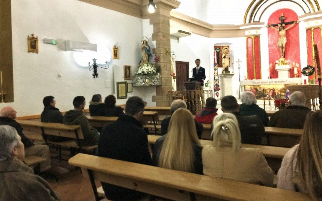 Juan Patón recorre la historia de la parroquia de Navas de Tolosa