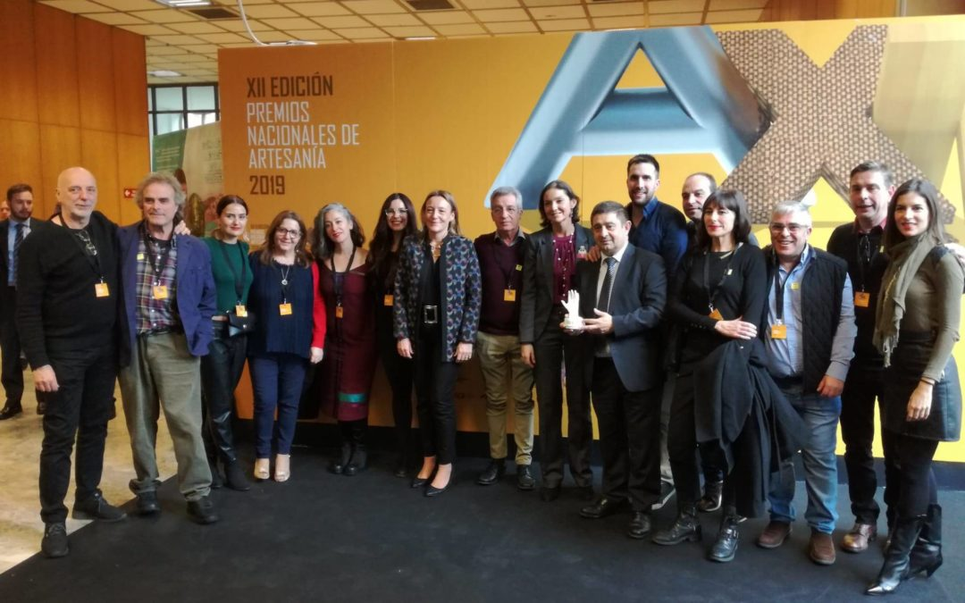La Diputación de Jaén recibe el Premio Nacional de Artesanía por el proyecto experimental Craft in Progress