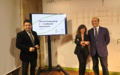 La Diputación y el Colegio de Abogados de Jaén renuevan el convenio para la Oficina de Intermediación Hipotecaria