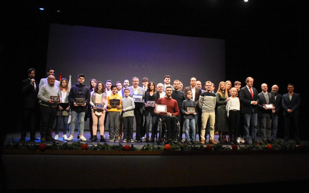 XXXV Gala del Deporte, una noche para celebrar los éxitos de Andújar