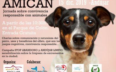 El parque de Colón acoge el domingo 15 una jornada sobre convivencia responsable con animales