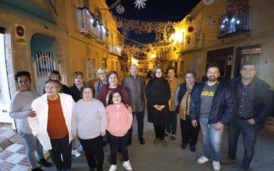 """Las calles y plazas tosirianas lucen los trabajos realizados en """"Decora tu pueblo por Navidad"""""""