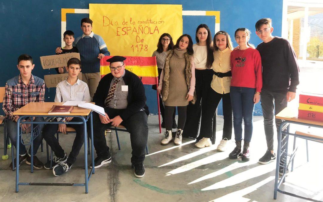 Teatro escolar para conmemorar el Día de la Constitución