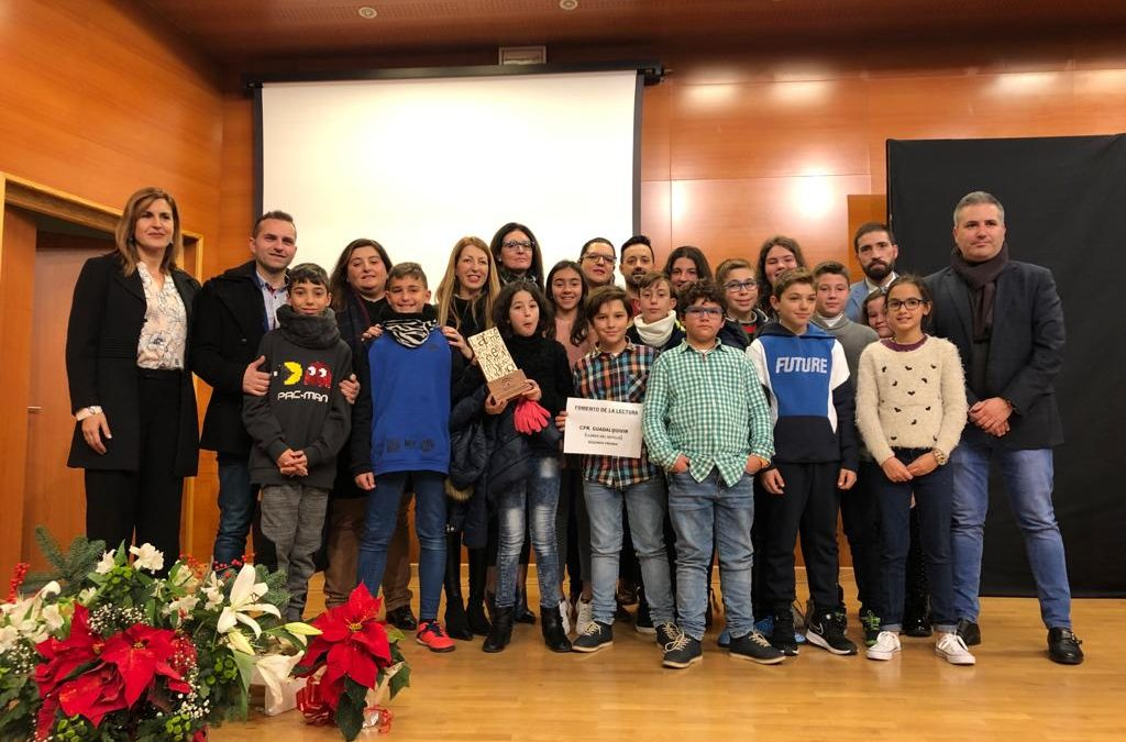 """El CEIP Guadalquivir de Llanos del Sotillo gana el segundo premio de """"Bibliotecas Escolares y Fomento de La Lectura"""""""