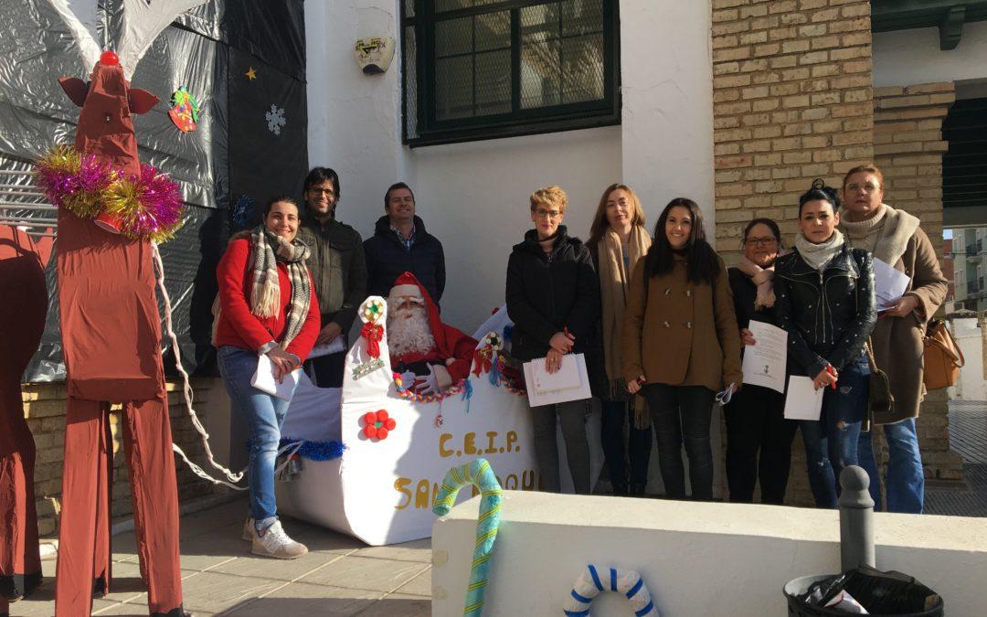 El jurado declara ganadores a todos los centros escolares participantes en Decora tu cole por Navidad