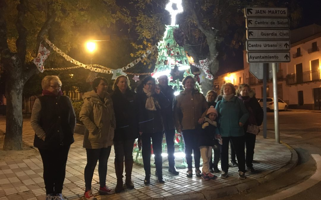 Los vecinos de San Roque nos muestran su decorado navideño