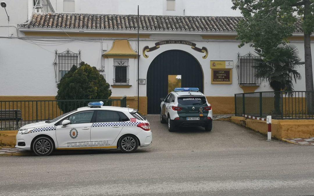 Guardia Civil y Policía Local organizan una batida para buscar a una mujer desaparecida en la Vía Verde