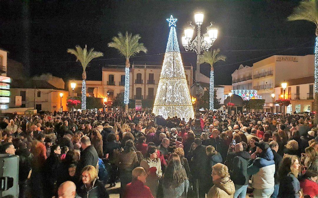 La Carolina brilla aún más por Navidad